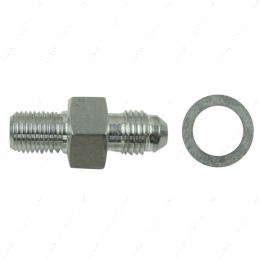 AN816-04-M1010 -4AN Male to M10-1.0mm Male Adapter Fitting Aluminum