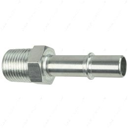 """AN817-03-08 1/2"""" Quick Connect Male Fuel Hose to 1/2"""" NPT Adapter Fitting GM Diesel Feed"""