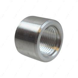 AN871-08A Aluminum -8AN Weld On Bung Female Nut Threaded 8 AN Insert Weldable