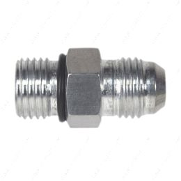 AN920-06-06A -6AN Flare to 6 Oring ORB Male Fuel Pump Rail Adapter Fitting Flare Hose Bare