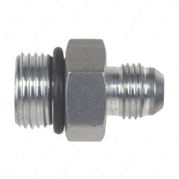AN920-06-08A -6AN Flare to 8 Oring ORB Male Fuel Pump Rail Adapter Fitting Flare Hose Bare