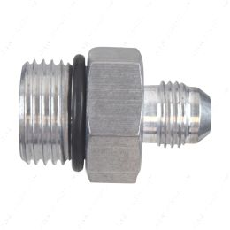 AN920-06-10A -6AN Flare to -10AN ORB Oring Male Fuel Pump Rail Adapter Fitting Flare Hose Bare