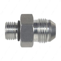 AN920-08-06A -8AN Flare to 6 Oring ORB Male Fuel Pump Rail Adapter Fitting Flare Hose Bare