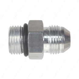 AN920-08-08A -8AN Flare to 8 Oring ORB Male Fuel Pump Rail Adapter Fitting Flare Hose Bare