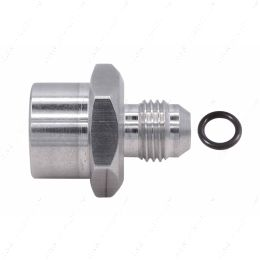 F06ANFM1815 6an Male Flare to Female M18-1.5 Oring Power Steering and Fuel Adapter Fitting