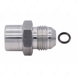 F08ANFM1615 8an Male Flare to Female M16-1.5 Oring Power Steering and Fuel Adapter Fitting