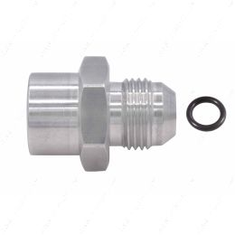 F08ANFM1815 8an Male Flare to Female M18-1.5 Oring Power Steering and Fuel Adapter Fitting