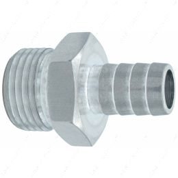 """F100R500BA Straight 10AN ORB to 1/2"""" Hose Barb Fitting"""