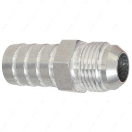 """F10AN750BA-A -10AN Flare to 3/4"""" (.75) Hose Barb Adapter Fitting Aluminum Flare"""