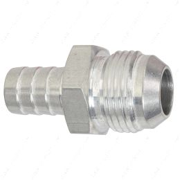 """F12AN625BA-A -12AN Flare to 5/8"""" (.625) Hose Barb Adapter Fitting Aluminum Flare"""