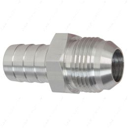 """F12AN750BA-A -12AN Flare to 3/4"""" (.75) Hose Barb Adapter Fitting Aluminum Flare"""