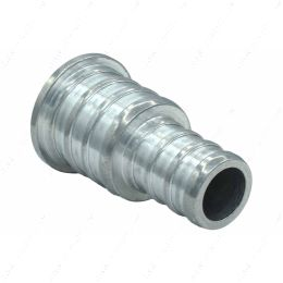 """F750PEX500PL 1/2"""" Pex to 3/4 Stepped Plug Fitting Aluminum (for non potable water)"""