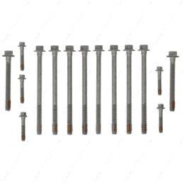 551854-STOCK GS33380 1 Head Set - Mahle - LS Head Bolt Kit Short Long OEM 97-03 LS1 4.8L 5.3L 6.0L