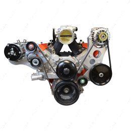 551362-3 LS Truck - High Mount LS Alternator / Power Steering Pump Bracket Kit