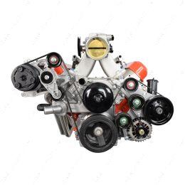 551795-2 LS OEM Fox Body A/C Compressor Alternator Power Steering Bracket Swap Mustang AC