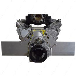 551813 Gen V LT 2pc Front Motor Plate - Aluminum Engine Mount (2014-up L83 L86 LT1)