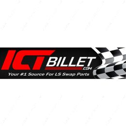 551099-02X08 2' X 8' ft Banner w/ Grommets ICT Billet Racing Full Color Large Vinyl Shop Wall