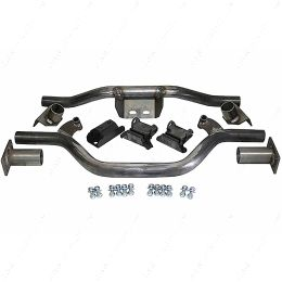 TCM4759DR 1947-59 Chevy, GMC Truck V-8 Engine and Transmission Crossmember Kit with Mounts