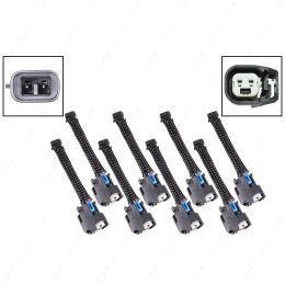 WAINJ32 Wire Harness Adapter for Mini Delphi Multec 2 Harness to USCAR EV6 Fuel Injector