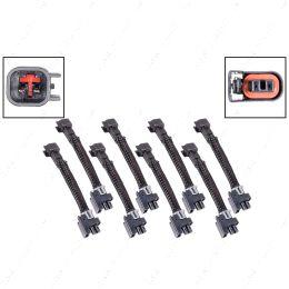 WAINJ40 Wire Harness Adapter for USCAR EV6 to Mini Delphi Multec 2 Fuel Injector