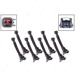 WAINJ41 Wire Harness Adapter for USCAR EV6 Harness Jetronic EV1 Fuel Injector