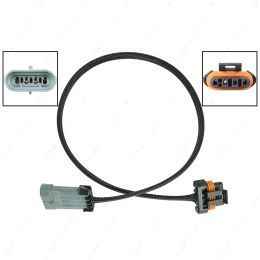 """WEALT30-36 Alternator Wire Harness Extension 36"""" Early LS (4 Pin Connector) Relocation"""