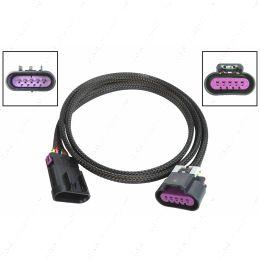 "WEMAF40-48 48"" Wire Extension Harness LS Gen 4 MAF Mass Air Flow Sensor Tube Style 4.8 5.3"