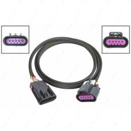 "WEMAF43-48 48"" Wire Extension Harness LS3 Gen 4 MAF Mass Air Flow Sensor Card Style 6.2 L99"