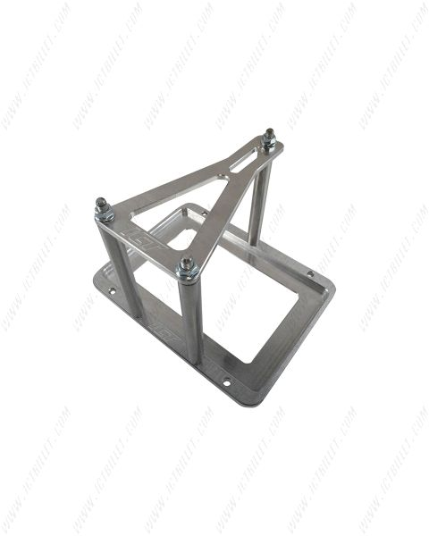 Universal Billet Battery Tray Hold Down / Relocation Box