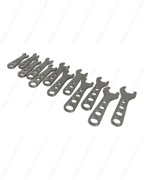 12pc Billet Aluminum AN Fitting Wrench Complete Set 2 - 12AN Wrenches