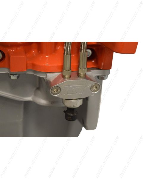 LS Oil Pressure Sensor Relocation Adapter w/ Dual 1/8