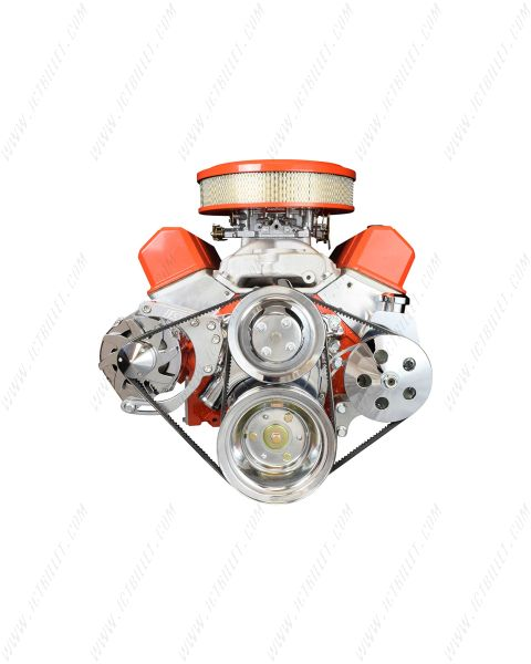 SBC Alternator / Power Steering Pump Accessory Drive Bracket Kit for Double Hump Heads