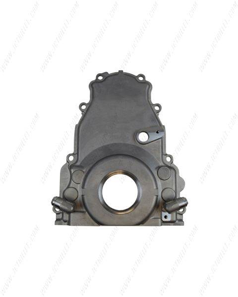 LS Gen 4 Twin Turbo Oil Drain Return - Front Timing Chain Cover -10AN