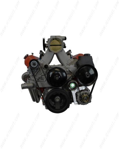 LS1 Alternator Bracket Complete Idler Pulley Camaro Factory LSX Billet