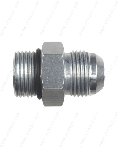 -12AN Flare to 12 Oring ORB Male Fuel Pump Rail Adapter Fitting Bare AN920-12-12A