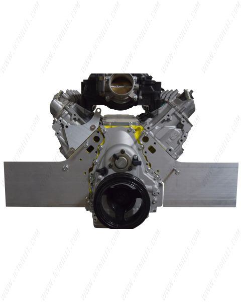 Gen V LT 2pc Front Motor Plate - Aluminum Engine Mount (2014-up L83 L86 LT1)