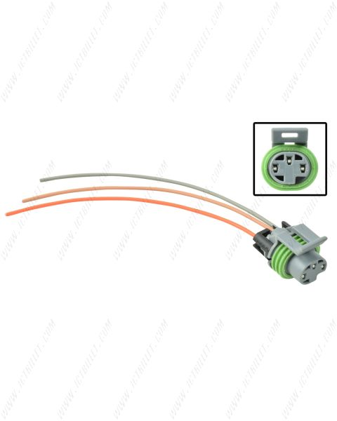 LS 3-Wire Oil Pressure Connector Harness Pigtail DBC Vortec Gen 3