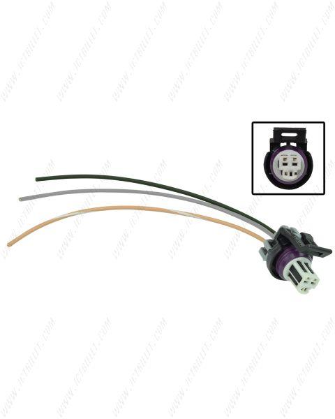 LS 3-Wire Oil Pressure Connector Harness Pigtail DBW Gen 3
