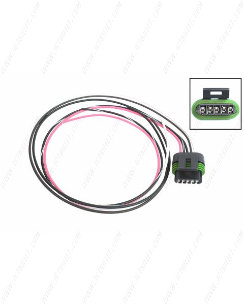 IGN-1A Holley Smart Coils 5-Wire Coil Harness Pigtail Connector AMP EFI LS