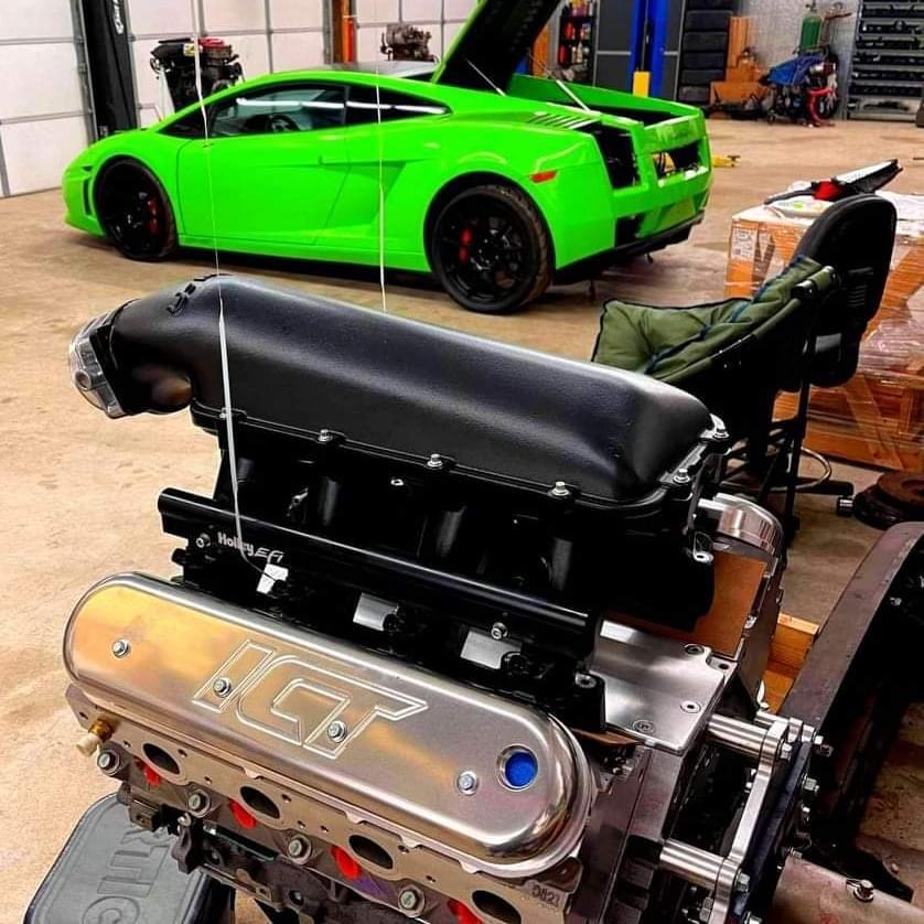 ICT Billet Lamborghini Gallardo LS Swap Project